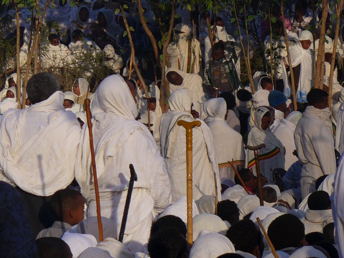 picture description: Meskal Festival, Classic North, culture and history with ZenAye Ethiopia Tours, Swiss-African expert in tour operation / photo: Linetta Schneller